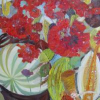 Momento musical III, 92 x 73 cm, Öl auf Leinwand, 2012 (Privatbesitz)