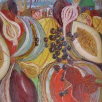 Fiesta de verano II, 92 x 73 cm, oil on canvas, 2012