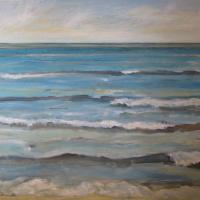 Ritmo azul, 92 x 73 cm, oil on canvas, 2012 (private collection)