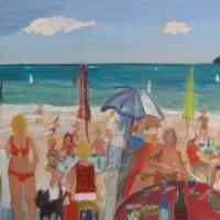 felicidad II, 60 x 50 cm, oil on canvas, 2013
