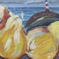 Faro I, 40 x 27 cm, oil on canvas, 2013