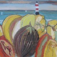 Faro II, 40 x 27 cm, oil on canvas, 2013