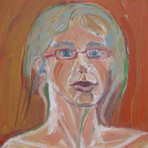 autoretrato, 40 x 40 cm,, 40 x 27 cm, oil on canvas, 2013