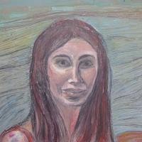 Portrait, 46 x 55 cm, oil on canvas, 2013