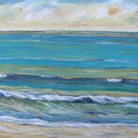 ritmo cálido, 92 x 73 cm, oil on canvas, 2014 (private collection)