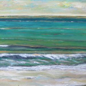 ritmo antes del anochecer, 92 x 65 cm, oil on canvas, 2014 (private collection)