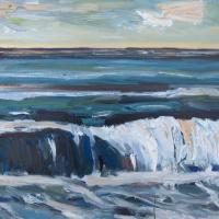 mar V, 55 x 38 cm cm, oil on canvas, 2014