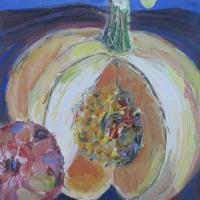 La Joya I, 20 x 20 cm, oil on canvas, 2014
