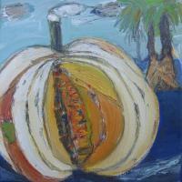 La Joya III, 20 x 20 cm, oil on canvas, 2014