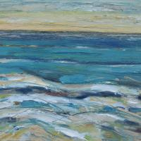 mar II, 55 x 38 cm cm, oil on canvas, 2014 (private collection)