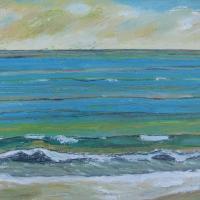 Mar VII, 55 x 38 cm, oil on canvas, 2015