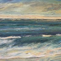 Mar IX, 55 x 38 cm, oil on canvas, 2016