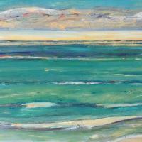 Mar VIII, 55 x 38 cm, oil on canvas, 2016