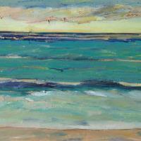 Mar X, 55 x 38 cm, oil on canvas, 2017