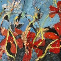La esperanza II, 55 x 46 cm, oil on canvas, 2019