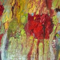 Dentro, 55 x 46 cm, oil on canvas, 2018