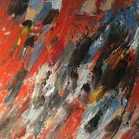 Operación, 55 x 46 cm, oil on canvas, 2018
