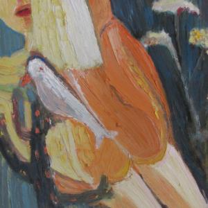 Volando I, 55 x 46 cm, óleo sobre tela, 2008