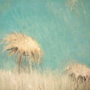 Cardo con cielo II, 27 x 22 cm, oil on canvas (private collection)