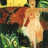 sin título, 130 x 108 cm, óleo sobre tela, 1997 (colección privada)