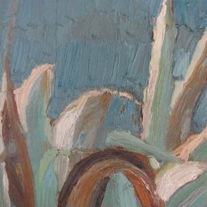 Creciendo I, 46 x 33 cm, oil on canvas, 2008