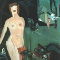 Sin título, 130 x 95 cm, oil on canvas, 1997 (private collection)
