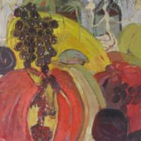 Fiesta de otoño IV, 92 x 73 cm, Öl auf Leinwand, 2009 (Privatbesitz)