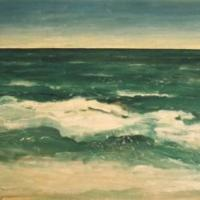 El mar, 146 x 97 cm, oil on canvas, 2001 (private collection)