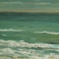 La mañana, 92 x 65 cm, oil on canvas, 2003 (private collection)