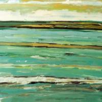 Mar con oro, 92 x 60 cm, oil on canvas, 2004 (private collection)