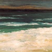 Mar por la tarde, 100 x 130 cm, oil on canvas, 2002 (private collection)