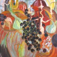 Sinfonia andaluza II, 146 x 114 cm, mixed media, 2011