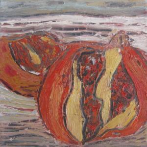 Encuentro I, 20 x 20 cm, Mischtechnik, 2010 (Privatbesitz)