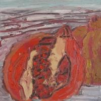 Encuentro II, 20 x 20 cm, Mischtechnik, 2010 (Privatbesitz)
