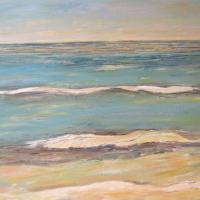 Mar infinito, 146 x 97 cm, oil on canvas, 2011