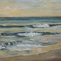 Ritmo por la tarde, 100 x 81, oil on canvas, 2011 (private collection)
