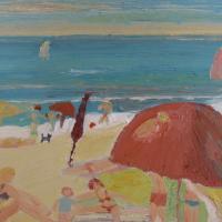 Vista al mar III, 41 x 33 cm, oil on canvas, 2009 (private collection)