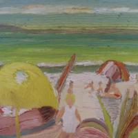 Vista al mar IV, 41 x 33 cm, oil on canvas, 2009