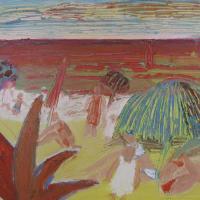 Vista al mar VI, 41 x 33 cm, oil on canvas, 2009