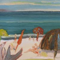 Vista al mar VII, 41 x 33 cm, oil on canvas, 2009