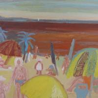 Vista al mar VIII, 41 x 33 cm, oil on canvas, 2009 (collection ayuntamiento de orgiva)