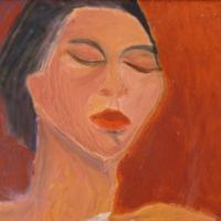 Portrait I, 40 x 29 cm, oil on canvas, 2005