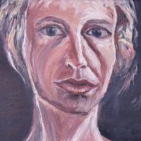 Portrait II, 46 x 33 cm, oil on canvas, 2005