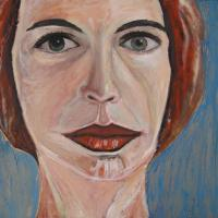 Mujer, 81 x 54 cm, oil on canvas, 2007 (private collection)