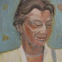 Beatrice, 30 x 30 cm, oil on canvas, 2009 (private collection)