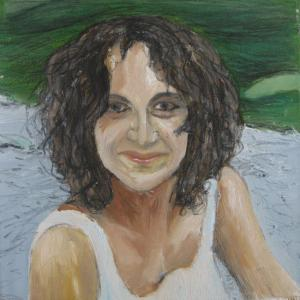 Susana, 30 x 30 cm, oil on canvas (private collection)