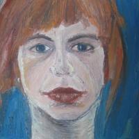 Portrait, 33 x 24 cm, oil on canvas (private collection)