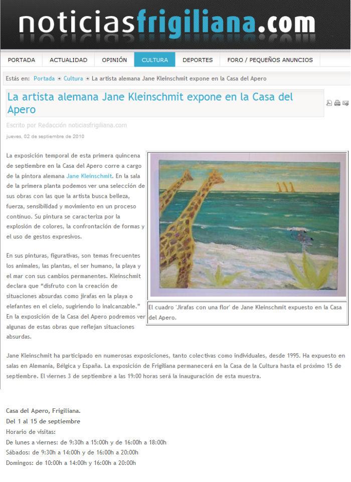 press for Jane Kleinschmit