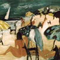 Playa alegre I, 75 x 100 cm, oil on canvas, 2002 (private collection)
