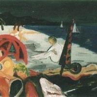 Mirando II, 38 x 50 cm, oil on canvas, 2000 (private collection)